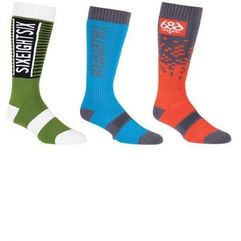 Skarpetki - knockout sock - 3 pack assorted (ast) marki 686