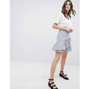 stripe and flippy skirt - multi marki Esprit