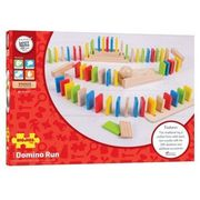 Bigjigs toys Domino run drewniane (0691621545584)