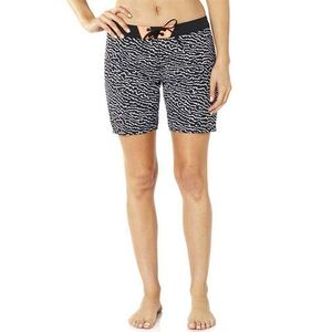 Kąpielówki - chargin boardshort black/white (018), Fox