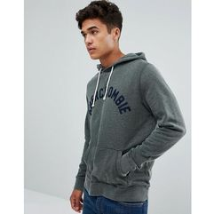 Abercrombie & fitch arch logo hoodie in green - green