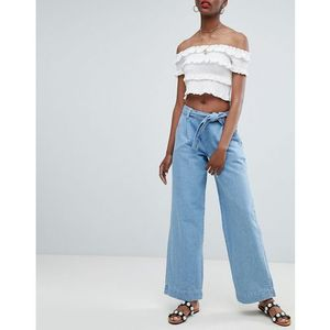 New Look Wide Leg Jeans - Blue, jeans