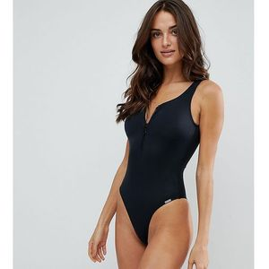 zip swimsuit - black, Free society