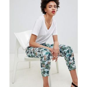 tropical printed joggers - multi marki Esprit