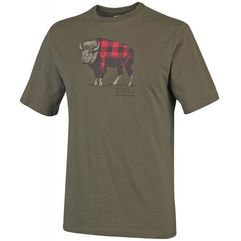 COLUMBIA CSC Check The Buffalo II Short Sleeve Peatmoss S