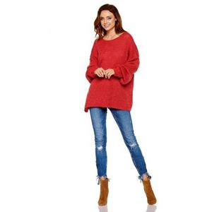 Sweter damski model ls216 bordo marki Lemoniade