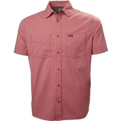 Helly hansen koszula męska domar ss shirt, red micro check xl (7040055450194)