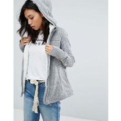 Abercrombie & fitch borg lined jacket - grey