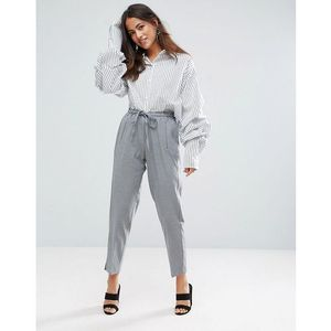 Y.A.S Monday Ankle Drawstring Trousers - Grey