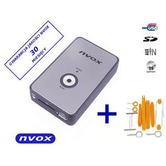 Nvox nv1080a chrysler 10pin zmieniarka cyfrowa emulator mp3 usb sd chrysler jeep dodge 10pin