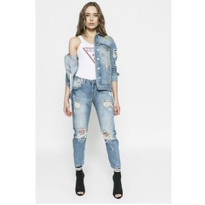 Guess jeans - jeansy vanille