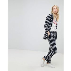 Only striped trouser - navy
