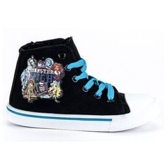 Trampki na suwak monster high marki Buty butymodne
