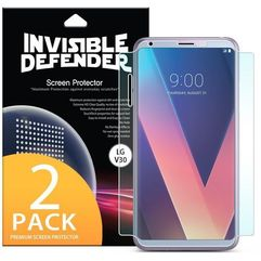 Rearth 2x folia 3d ringke invisible defender lg v30 (8809550343900)
