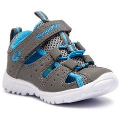 Kangaroos Sandały - rock lite 0130a 000 2007 steel grey/brillant blue