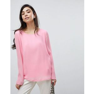 Soaked in luxury pleated blouse - pink