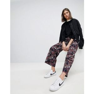 wide leg trousers in tiger print - multi marki Moss copenhagen