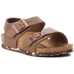 Sandały BIRKENSTOCK - New York Kids Bs 1008350 Brown, kolor brązowy