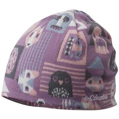 COLUMBIA czapka dwustronna Toddler/Youth Urbanization Mix Violet Haze Critters L-XL