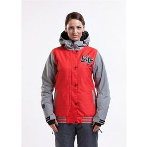 Kurtka - xox c h.red/light grey (73), Meatfly