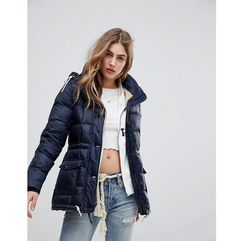 Abercrombie & Fitch Core Padded Jacket - Navy