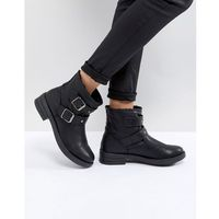 ASOS ACCENT Studded Biker Ankle Boots - Black