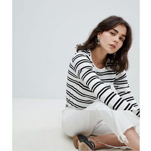 Pieces striped jersey top - multi