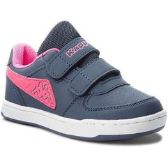 Sneakersy KAPPA - Trooper Light Ice K 260575K Navy/Pink 6722, kolor niebieski