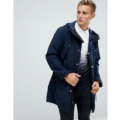 lightweight hooded parka in navy - navy, Abercrombie & fitch
