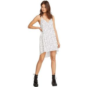Volcom Sukienka - vol dot com dress white (wht) rozmiar: m