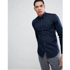 Antony morato stretch shirt in navy - navy