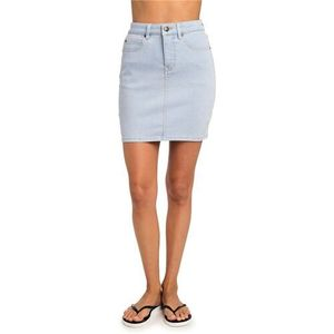 Spódnica - classic iii denim skirt ice blue (3807), Rip curl
