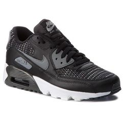 Buty NIKE - Air Max 90 Mesh Se (GS) AA0570 002 Black/Cool Grey/Anthracite, kolor czarny