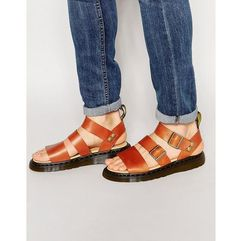 gryphon sandals - brown marki Dr martens