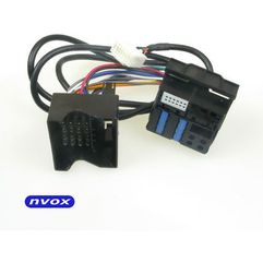 Dobra marka - Nvox cab1080a bmw 12pin kabel do zmieniarki cyfrowej emulatora mp3 usb sd bmw 12pin (5909182418960)