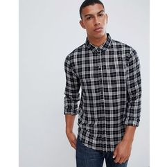 viscose check shirt - black marki Another influence