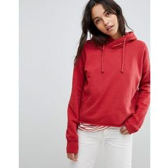 pullover hoodie - red marki Abercrombie & fitch