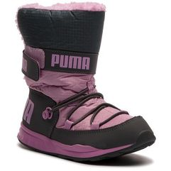 Śniegowce PUMA - Trinomic Boot Ps 363978 06 Iron Gate/Orchid, kolor szary