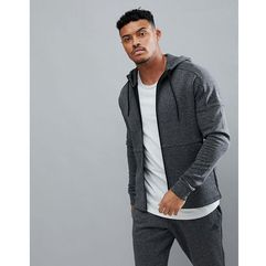 Adidas athletics stadium full zip hoodie in grey cw0259 - grey