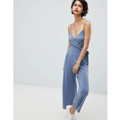 knitted jumpsuit - blue marki Abercrombie & fitch