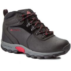 Columbia Półbuty - youth newton ridge by2852 black/mountain red 010