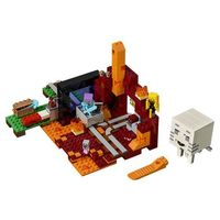 21143 PORTAL DO NETHERU (The Nether Portal)- KLOCKI LEGO MINECRAFT