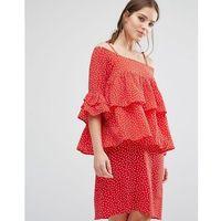 abby dress - red marki Y.a.s