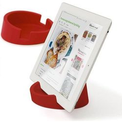 Bosign Bosign Kitchen Tablet Stand. Cookbook stand for iPad/tablet PC -Red. 11,4 cm, 4,5 cm high. Silicone - 262918 Darmowy odbiór w 19 miastach! (7394142629186)